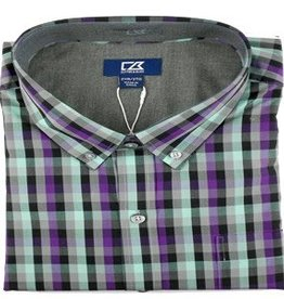 Cutter & Buck Cutter & Buck Non-Iron Sawyer Plaid Shirt