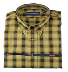 Hensley Hensley's Wrinkle Free Saddle Plaid Shirt