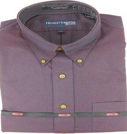 Hensley's Wrinkle Free Solid Purple Shirt