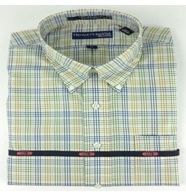 Hensley Hensley's Wrinkle Free Micro Check Plaid Shirt