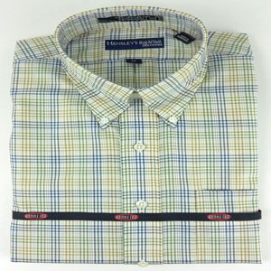 Hensley's Wrinkle Free Micro Check Plaid Shirt