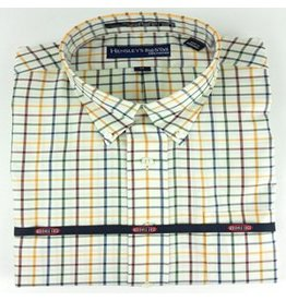 Hensley's Wrinkle Free Multi Color Large Check