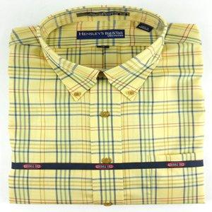Hensley's Wrinkle Free Maize Multi Plaid Shirt