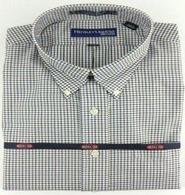Hensley's Brown Micro Check Shirt