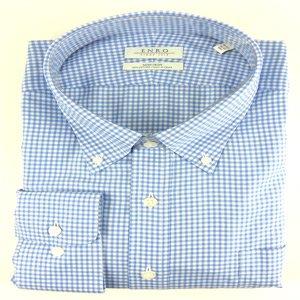 Enro Enro Non-Iron Forest Hill Check Dress Shirt