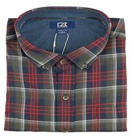 Cutter & Buck Cutter & Buck Non-Iron Dry Creek Plaid Shirt