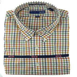 Hensley's Wrinkle Free Multi Color Bold Check