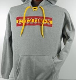 Iowa State Gray Hooded Sweatshirt