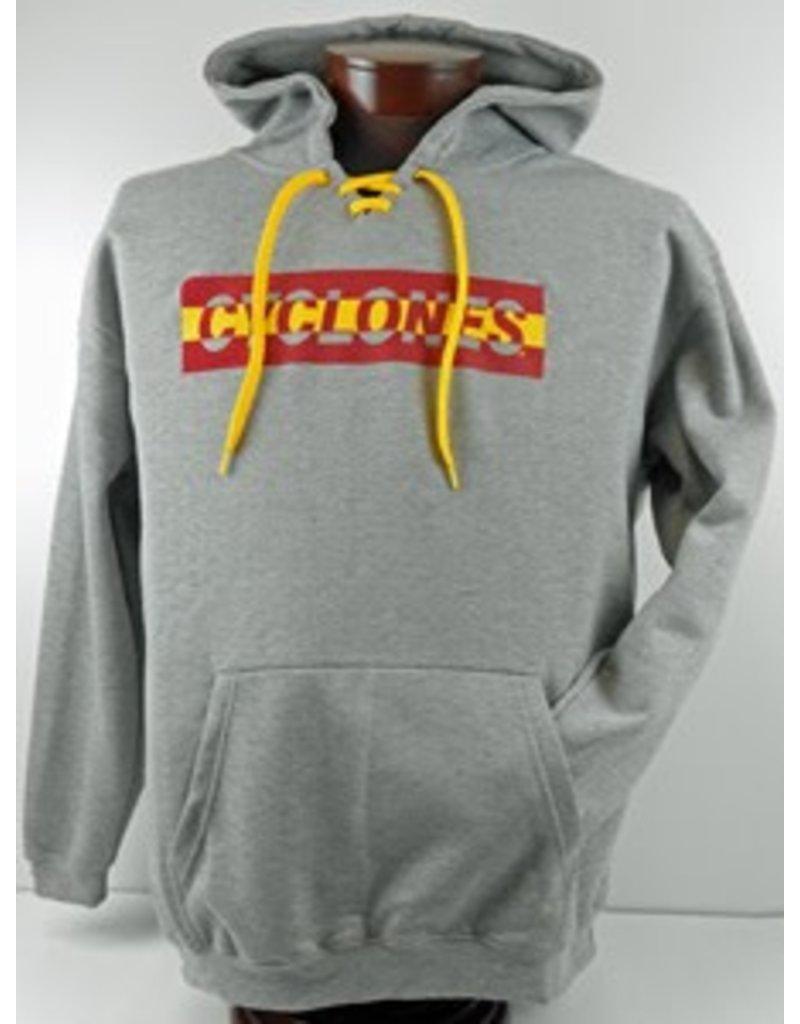 Iowa State Gray Hooded Sweatshirt