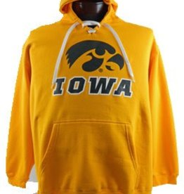 Iowa Hawkeye Gold Hooded Sweatshirt