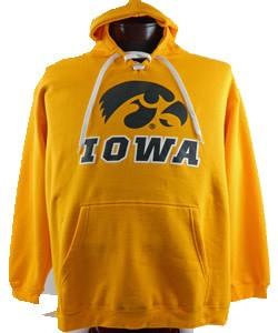 Iowa Hawkeye Gold Hooded Sweatshirt