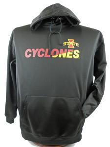 ISU Black Perf Hoody Sweatshirt