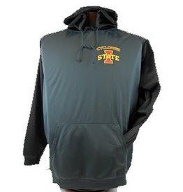 ISU Color Block Perf Hoody Sweatshirt