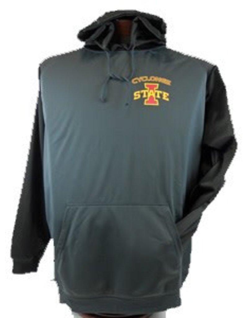 363480ab09d7 ISU Color Block Perf Hoody Sweatshirt - Hensley's Big and Tall