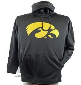 IA Hawkeye Black Perf Hoody Sweatshirt