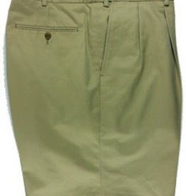 Cordovan Grey Pleated Cotton Shorts - Three Colors
