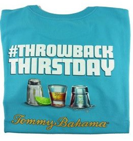 Tommy Bahama Tommy Bahama Short Sleeve Throw Back Thirstday Tee