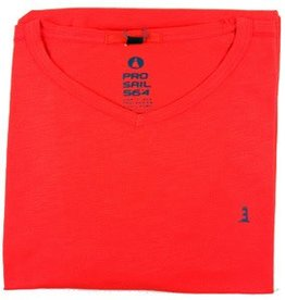 All Size Short Sleeve 56*4 V-Neck Tee- Two Colors