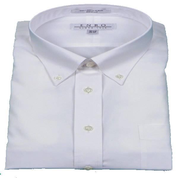 Enro Enro Basic White BD Dress Shirt