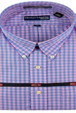 Hensley's Wrinkle Free Pink/Blue Check