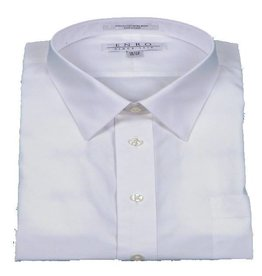 Enro Enro Non-Iron White Point Collar Dress Shirt
