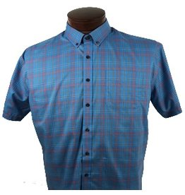 Cutter & Buck Cutter & Buck SS Isaac Plaid Shirt