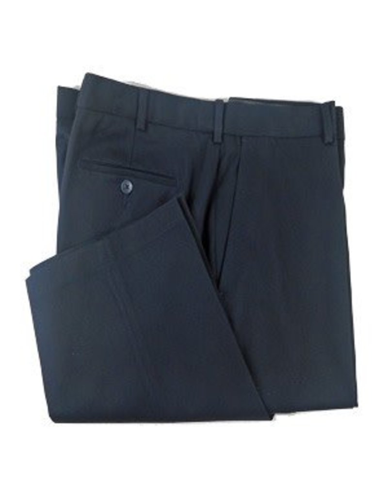 Enro Navy Josh Flat Front Pant