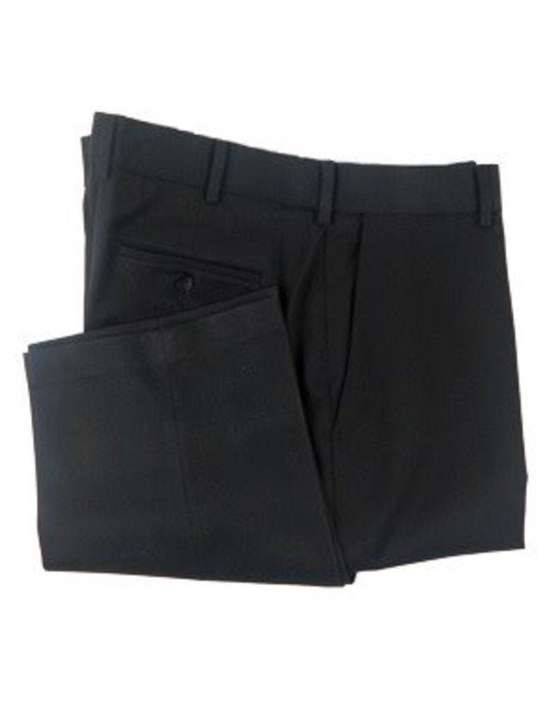 Enro Black Josh Flat Front Pant