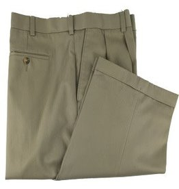 Enro Khaki Kyle Pleated Pant