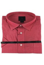 F/X Fusion F/X Fusion SS Red Micro Check Shirt