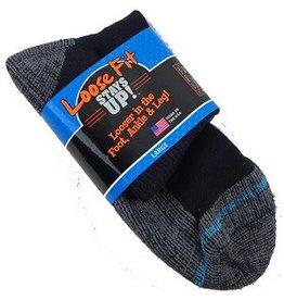 Extra Wide Anklet Loose Fit/Stays Up Large Sock