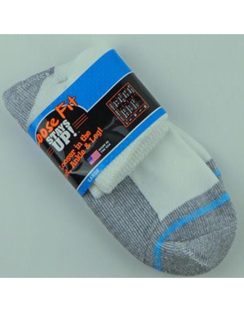 Extra Wide Anklet Loose Fit/Stays Up Large Sock