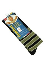 Venetex 3-1 King-Size Stripe Socks (No Cushion)