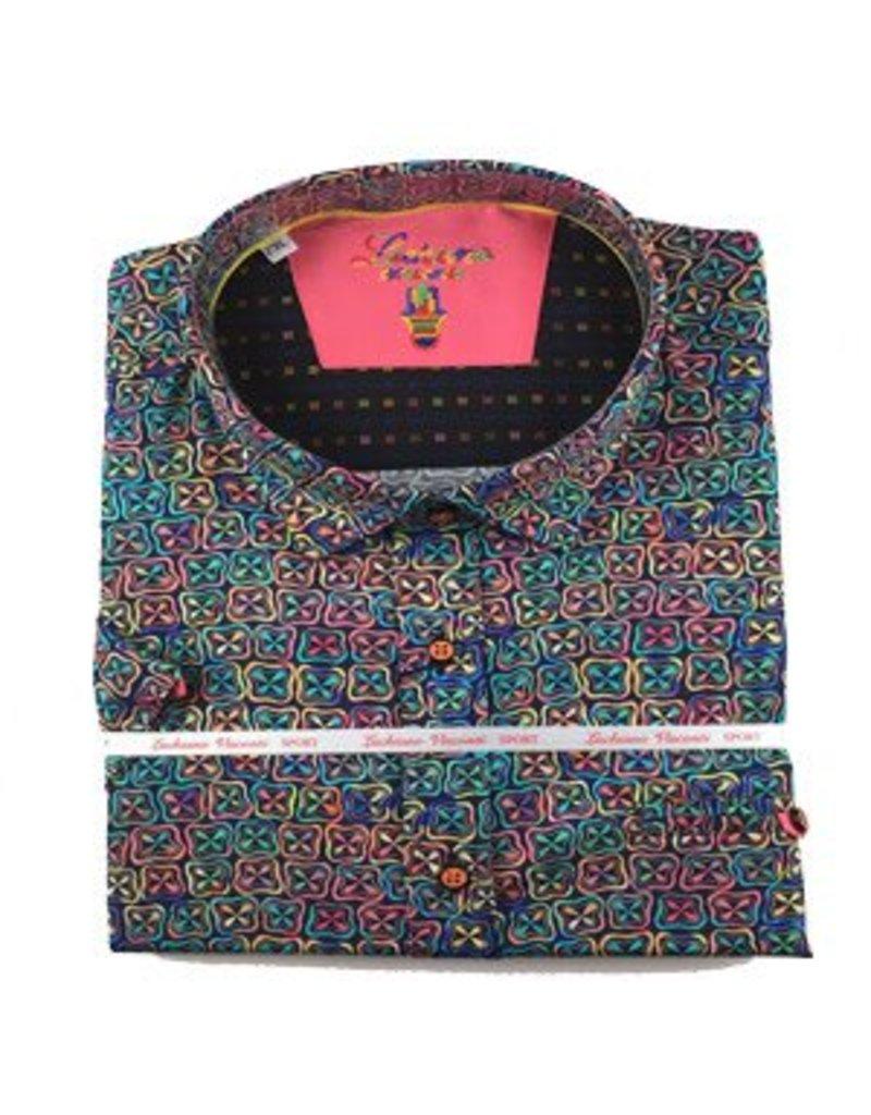 Luchiano Visconti Luchiano Visconti SS Multi Shirt