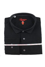 Luchiano Visconti Luchiano Visconti LS Black Tonal Shirt