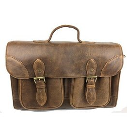 Scully Classic School Leather Brief Case