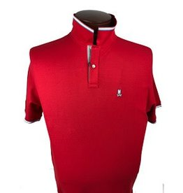 Psycho Bunny Psycho Bunny Red St. Croix Polo