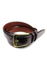 Torino Leather Burgandy Antiqua Belts w/Brass