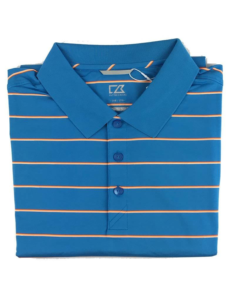 Cutter & Buck Cutter & Buck Everett Stripe Polo