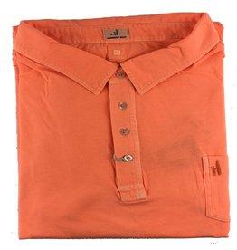 Johnny O Johnnie O Garment Dyed Orange Polo
