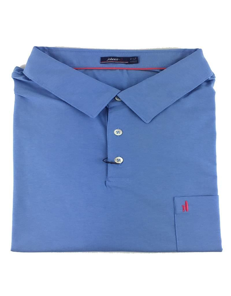 Johnny O Johnnie O Harvey Laquna Blue Polo