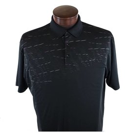 Callaway Callaway SS Printed Polo w/Engineered Vent