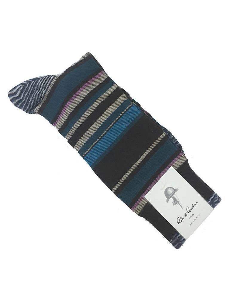 Robert Graham XL Bernera Socks