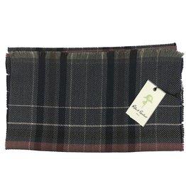 Robert Graham Lewis Lagoon Wool Scarf