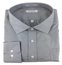Enro Enro N/I Gray Ashbury Check Shirt