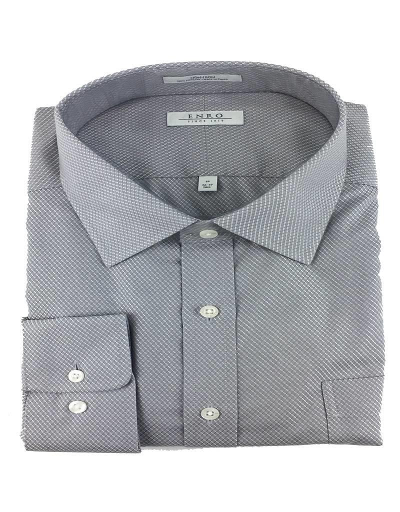 Enro Enro N/I Gray Ashbury Check Shirt