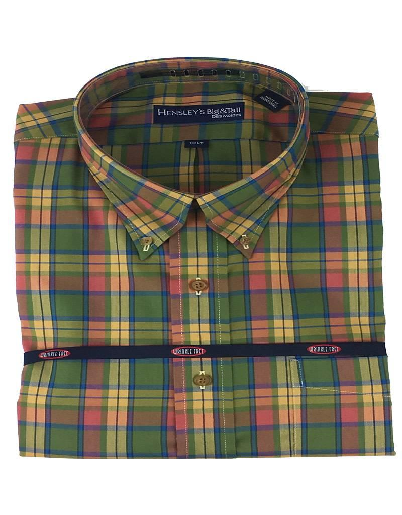 Hensley Hensley's LS Cool Max Perform Twill Olive