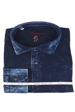 Luchiano Visconti Luchiano Visconti LS Blue Denim Shirt
