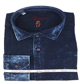 Luchiano Visconti Luchiano Visconti LS Blue Denim Shirt