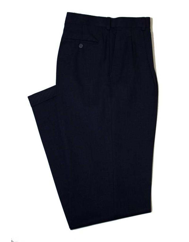 Enro Sublima Pleated Cuff Pant-Navy Heather